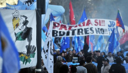 Cristina dejo en off side el clima bélico que preparó el kirchnerismo contra los buitres