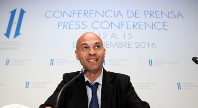 El ministro de Transporte, Guillermo Dietrich.