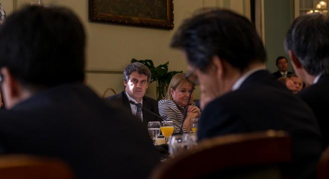 Los ministro Prat Gay y Malcorra.