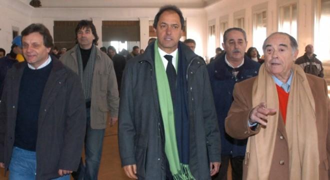 CFK, Scioli, Aldrey, Putli