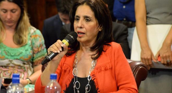 La senadora formoseña Graciela de la Rosa.