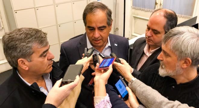 Martínez y Cano hicieron declaraciones a la prensa tras la última reunión de gabinete.