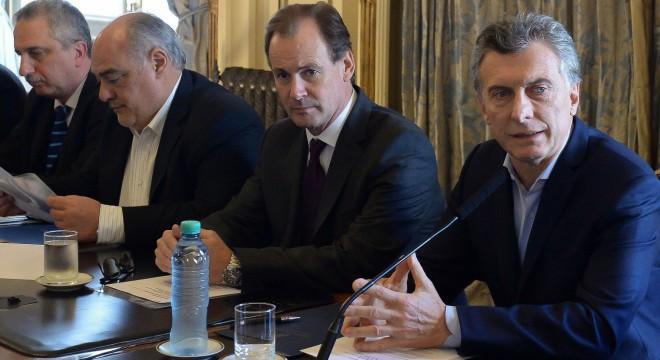 Macri con los gobernadores mesopotánicos