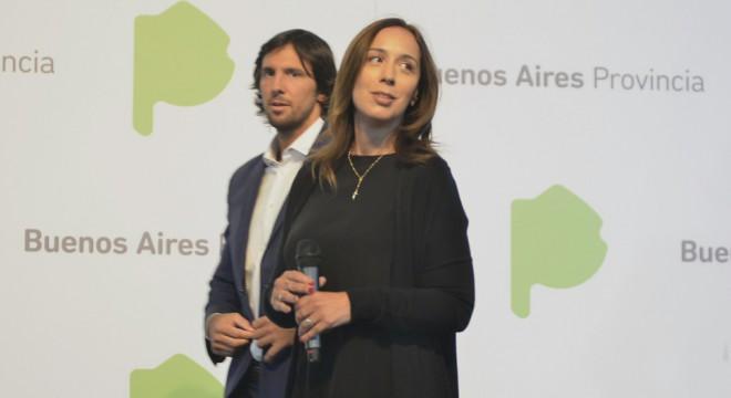 Matías Lanusse y María Eugenia Vidal.