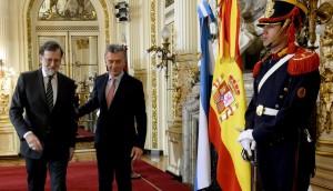 Rajoy respaldó a Macri