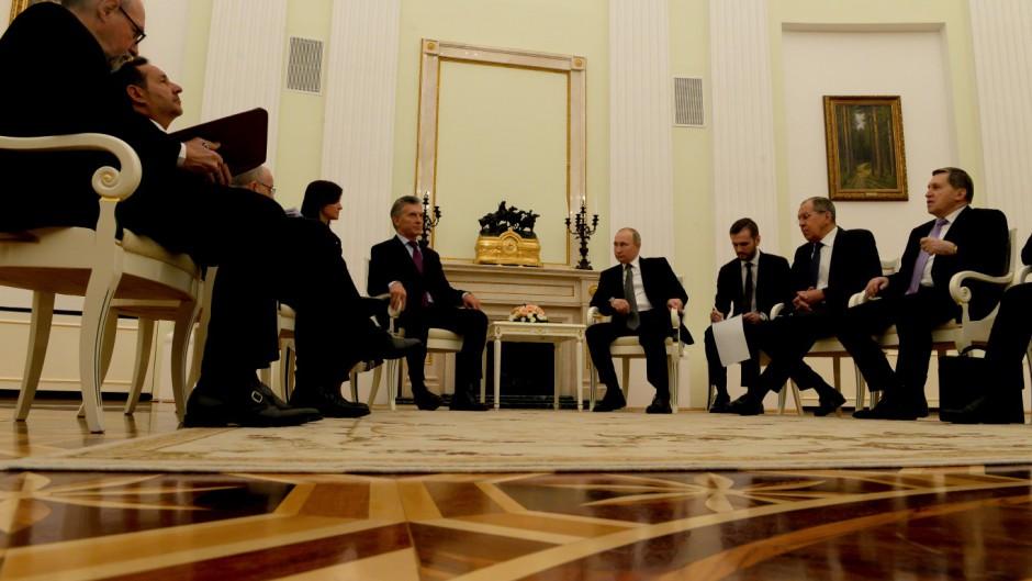 Resultado de imagen para Macri acordó con Gazprombank