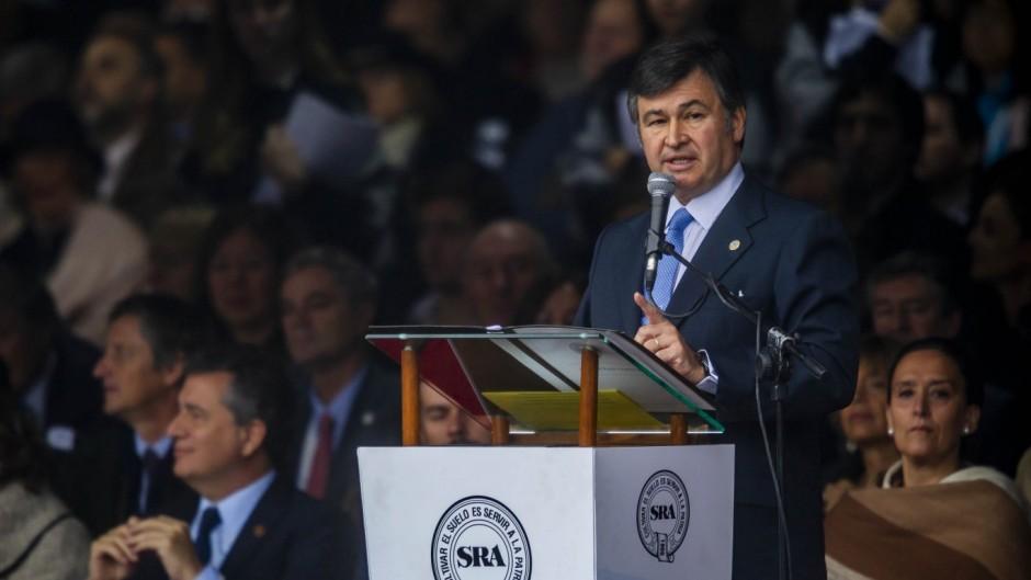 """El presidente de La Rural cuestionó la inflación y """"la presión tributaria asfixiante"""""""