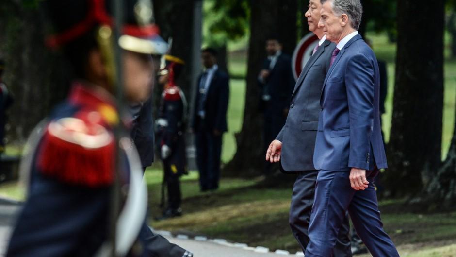 """Xi Jinping agradeció a Macri por desmentir a Trump sobre la """"actitud depredadora china"""""""