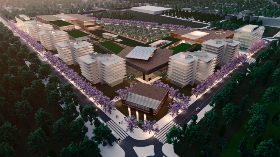 El proyecto de Irsa en la capital provincial.