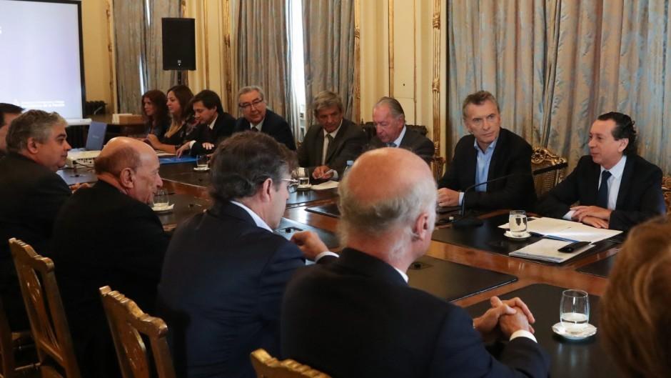 """Macri tuvo que defender su candidatura ante los empresarios: """"Le gano el ballotage a Cristina"""""""