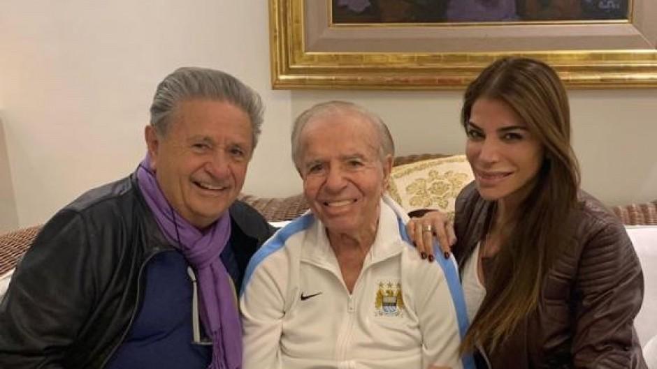 Duhalde visitó a Menem luego de años de distanciamiento