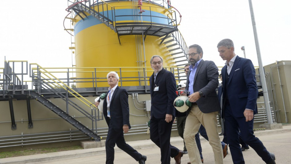 El Gobierno inauguró la central nuclear Embalse por segunda vez