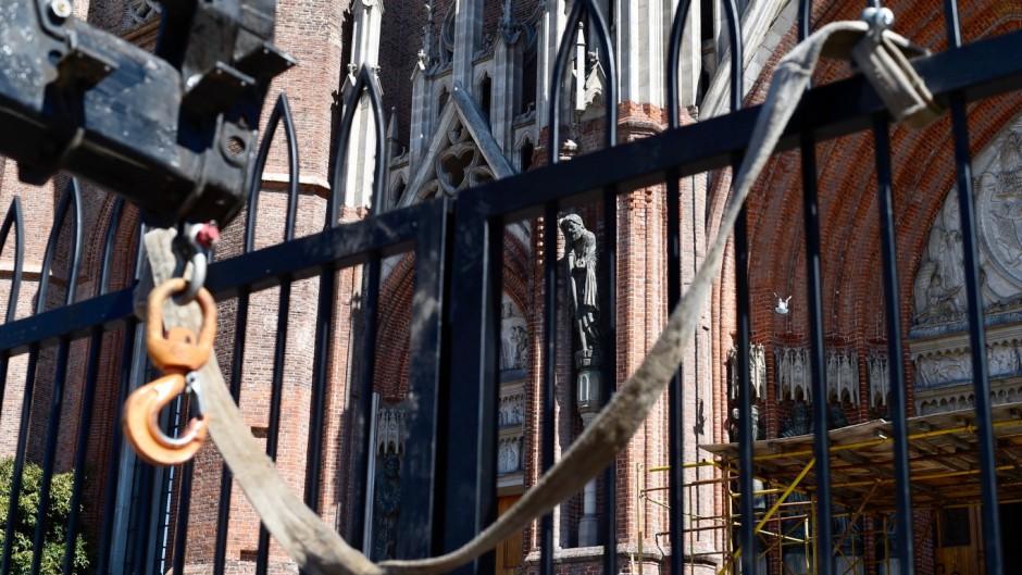 Rejas en la Catedral de La Plata