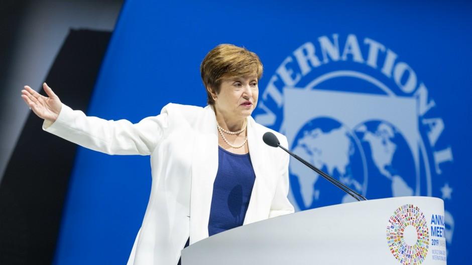 La directora del FMI le pidió a Alberto que mantenga el plan de ajuste de Macri