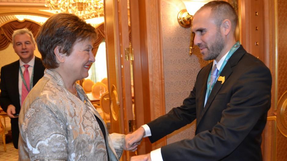 Guzmán se reunió con Georgieva y aceptó que el FMI revise las cuentas argentinas