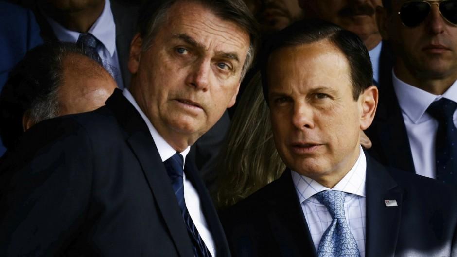 El gobernador de San Pablo se hartó de Bolsonaro y deja de girar recursos a Brasilia