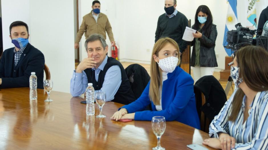Portezuelo: Sagasti vuelve a desafiar a Alberto y respalda al gobernador de Mendoza