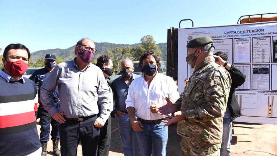 Sáenz pide que el Ejército controle la frontera por el riesgo de colapso sanitario en Bolivia