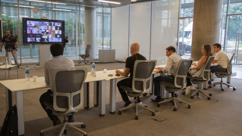 Por el teletrabajo algunas empresas analizan desprenderse del 60% de sus oficinas en la Ciudad
