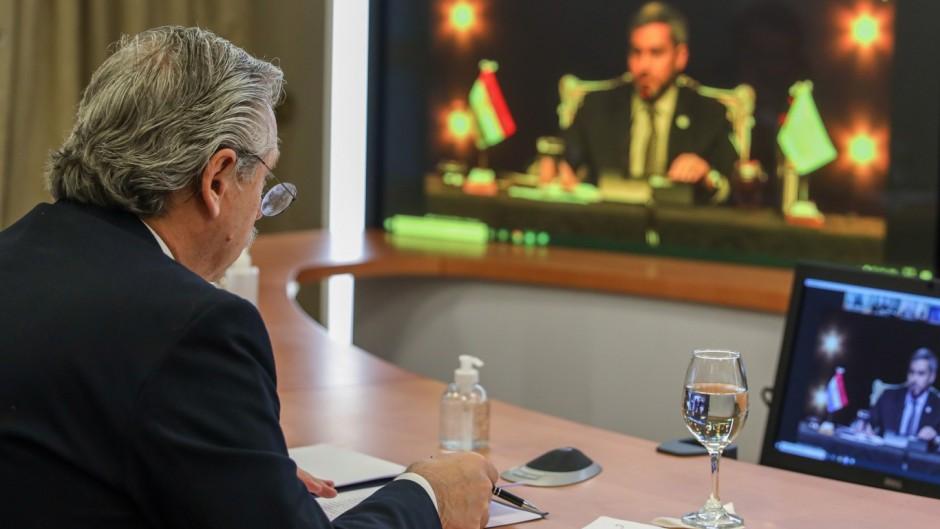 Alberto cuestionó a Bolsonaro en medio de la cumbre del Mercosur