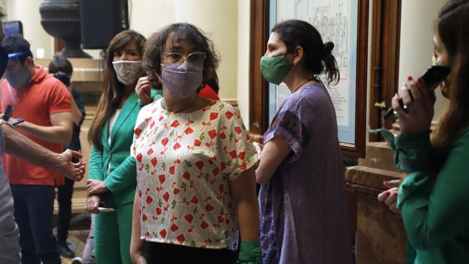 La ley del aborto se debatirá en el recinto el 10 de diciembre y las verdes se creen ganadoras