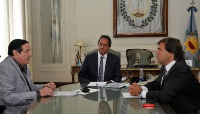 El líder de UPCN respalda a Scioli en la pulseada con los docentes